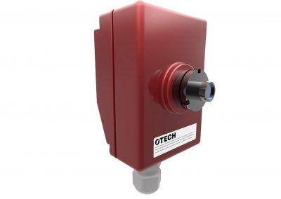 detektor czujnik gaszenia iskier tył