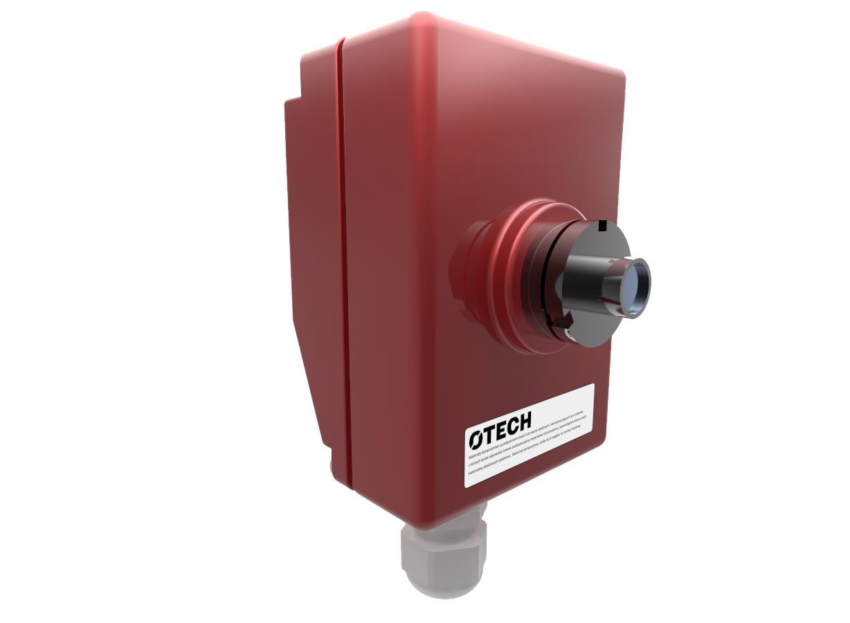 System detekcji i gaszenia iskier - detektor
