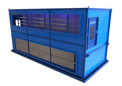 komora nawilżania powietrza, nawilżacz kanałowy