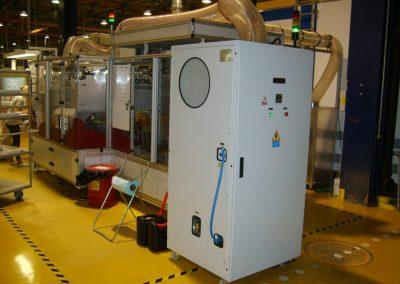 nawilzanie oczyszczanie chłodzenie powietrza do druku