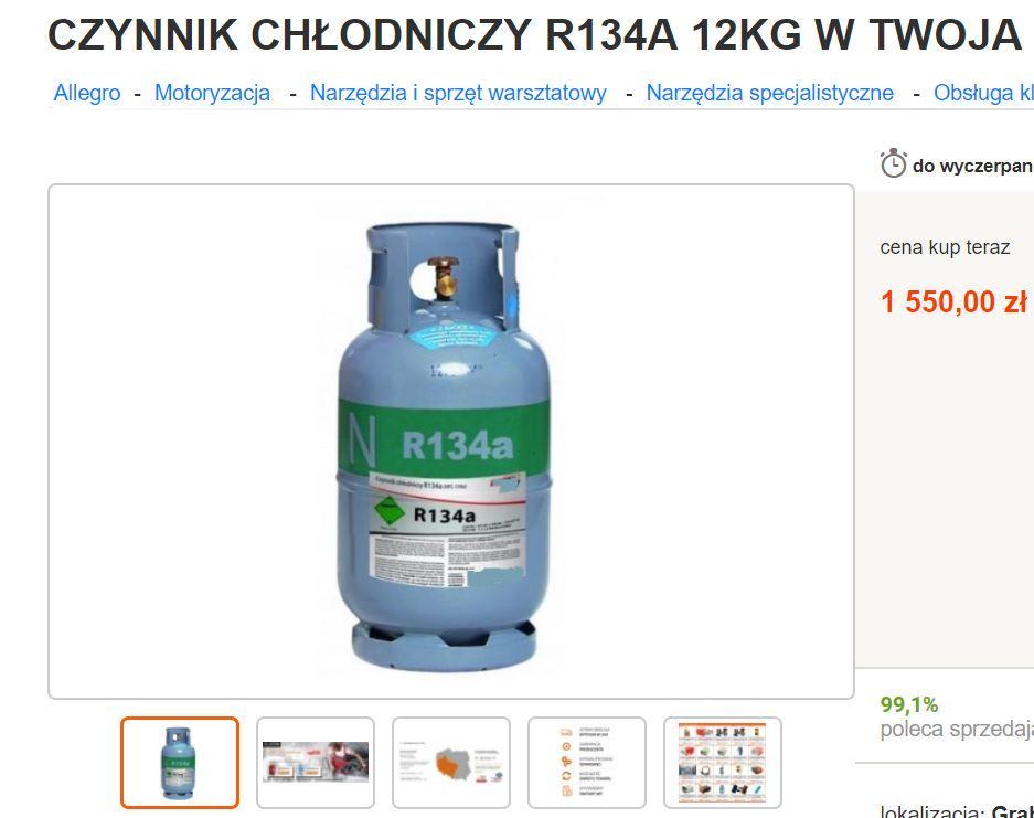 Ciemna strona branży klimatyzacji - R134a