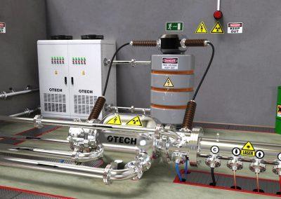 sterylizator piwa, promieniowaniem X