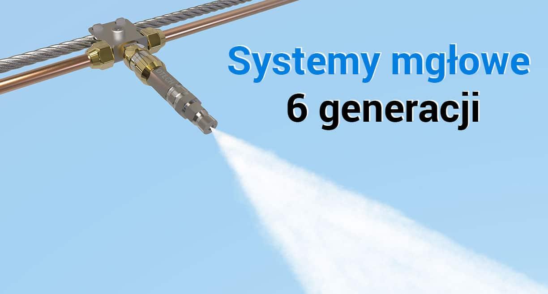 systemy mgłowe do nawilżania powietrza w przemyśle, nawilżacze przemysłowe