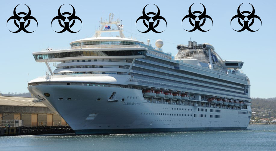 statek śmierci, wirus z Chin, koronawirus Wuchan