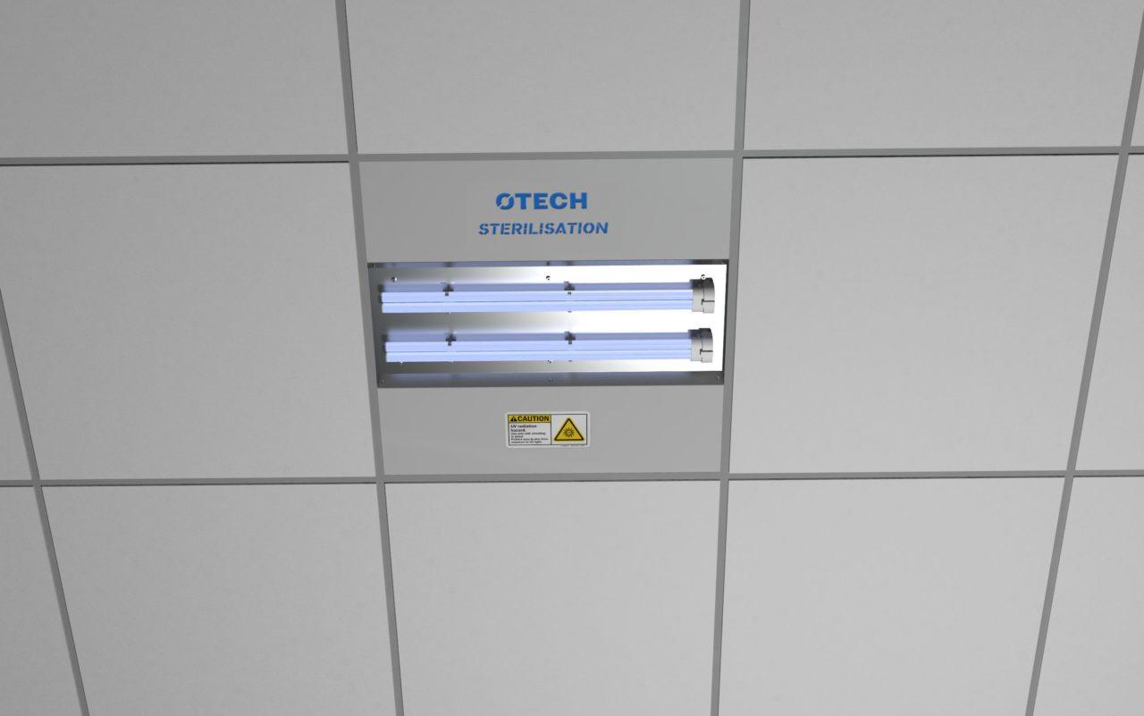 Dezynfekcja powietrza - lampy UV-C