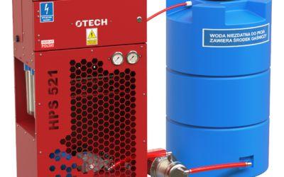 Detekcja i gaszenie iskier