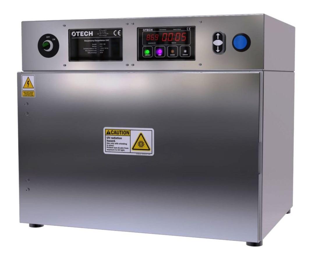 Laboratoryjny szybki sterylizator UVC