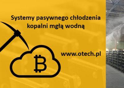 Bitcoin technologia chłodzenia kopalni bitcoin