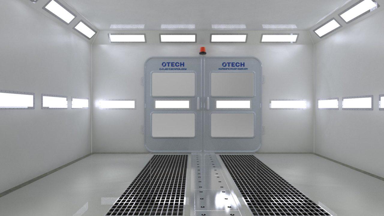 Lampy LED do kabin lakierniczych